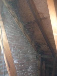 roof water leak