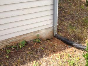 downspout drains