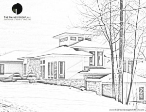 architectural coloring book