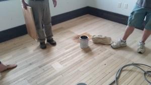 Depot floor