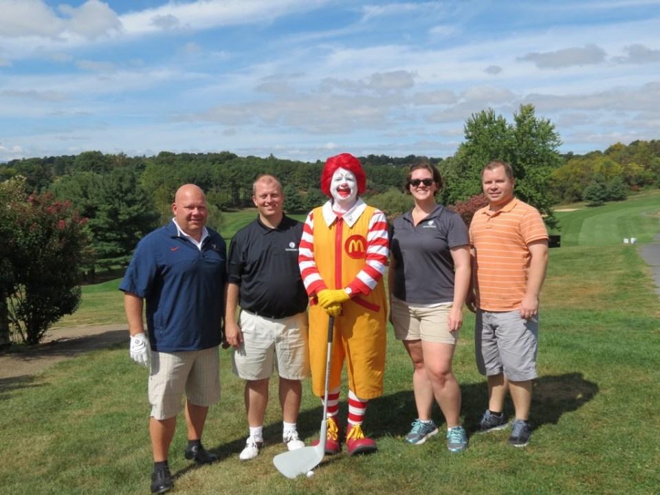 ronald mcdonald golf