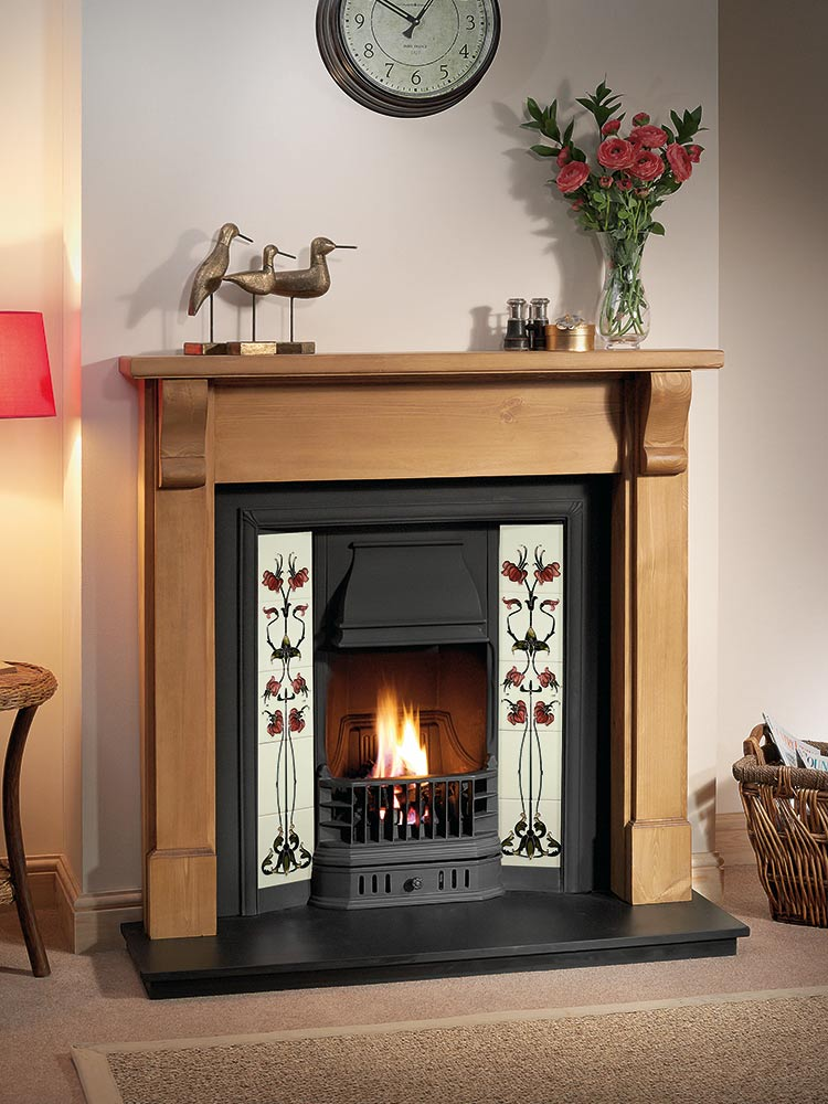 Mantels And Tiled Inserts  THE GALLERY COLLECTION