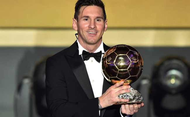 Ballon D Or Markets Suspended As Messi Bets Flood In The