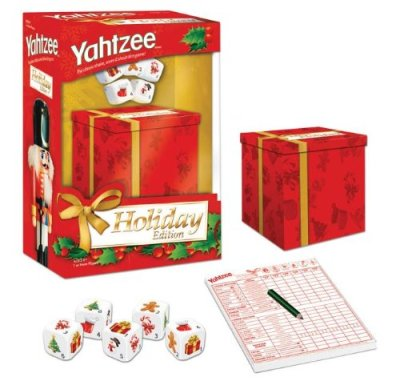 holiday yahtzee