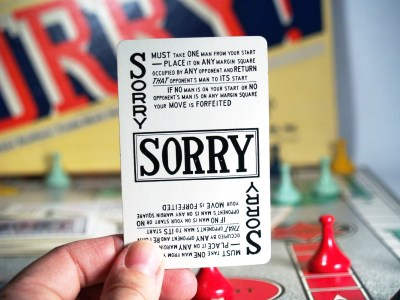 SORRY!: Yea, bet they're sorry they asked.