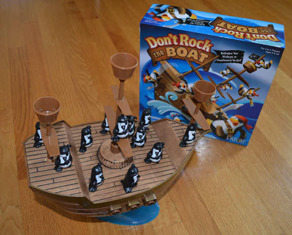 Don't Rock the Boat: Toy-etic plastic action games return!