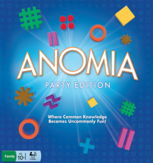 anomia: get the little one or the party edition — either way it's, Skeleton