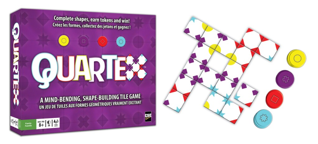 Quartex: Tile game with a scoring TWIST that makes it worth a look