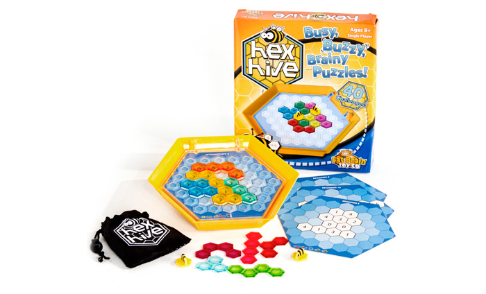 Hex Hive: A Math Game In Remembrance of My Mother