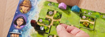 Karuba: Lush green tile-placement fun!