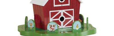 Peekaboo Barn: The button on this game is the best!
