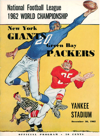 Classic NFL Games -- 1962 NFL Championship -- First Half