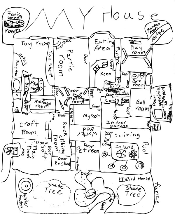 Draw your dream house - The Game Gal