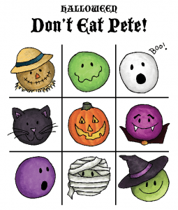 image relating to Don T Eat Pete Printable identify Free of charge Printable Term Lists - The Activity Gal