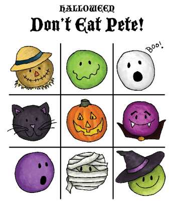 Download the Halloween Don't Eat Pete board!