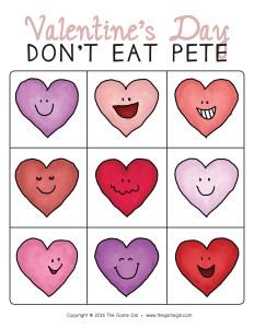 Valentine Don't Eat Pete - Thumbnail