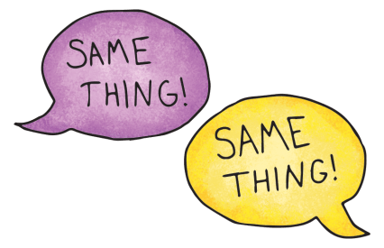 say-the-same-thing