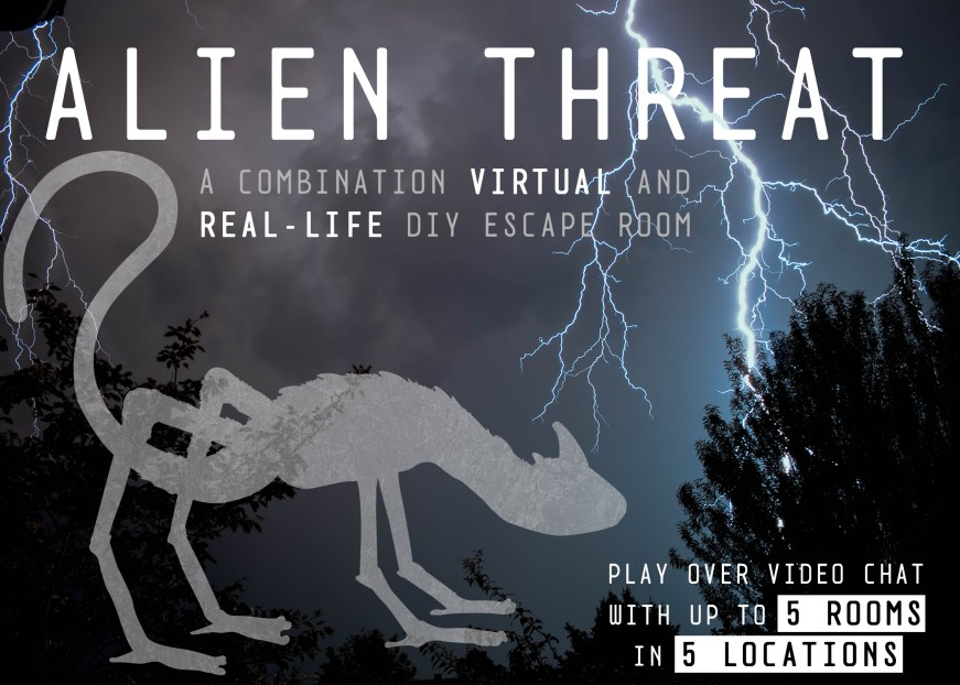 Alien Threat virtual escape room