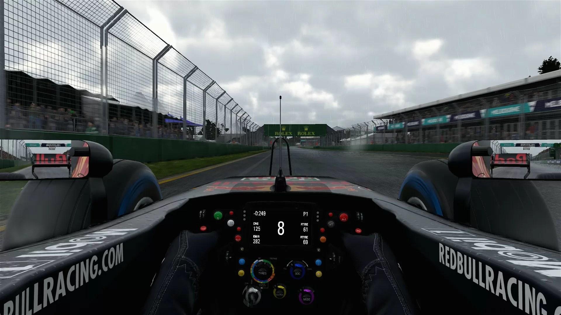 F1 2017 PC PS4 Xbox One immagini  The Games Machine