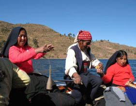 Peru UNESCO sites, World Heritage Sites in Peru - Taquile on Lake Titicaca