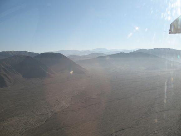 Peru UNESCO sites, World Heritage sites in Peru - view over the Nazca desert