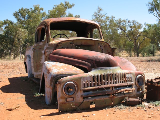 The abandoned gold mining town of Arltunga - a month in the Australian Outback