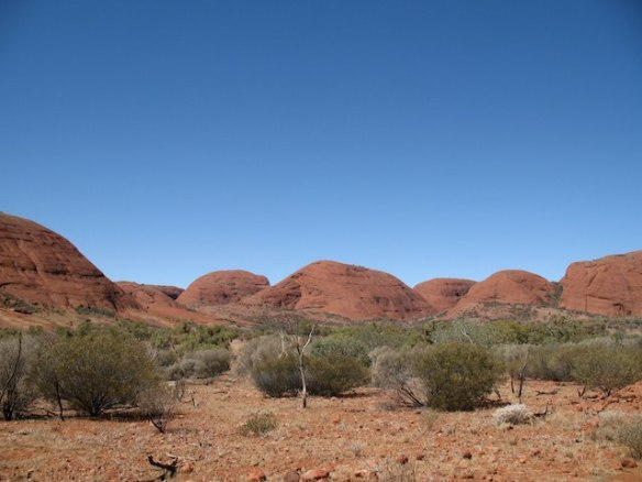 Kata Tjuta The Olgas - a month in the Australian Outback
