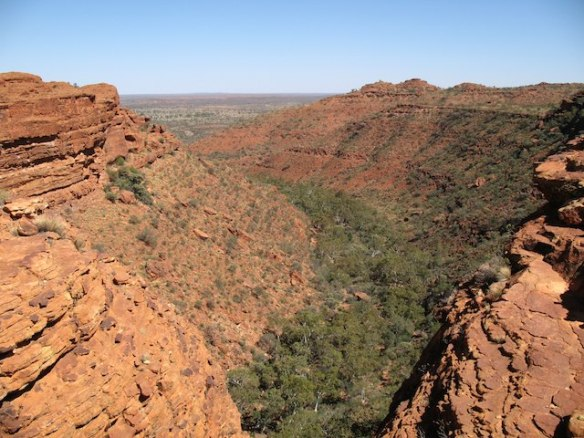 Kings Canyon rim walk - a month in the Australian Outback