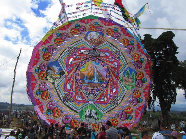 All Saints Day in Guatemala