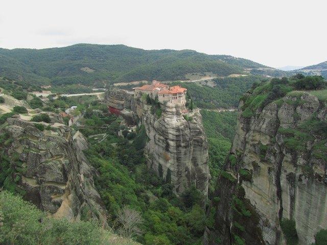 monasteries of Meteora - isolation