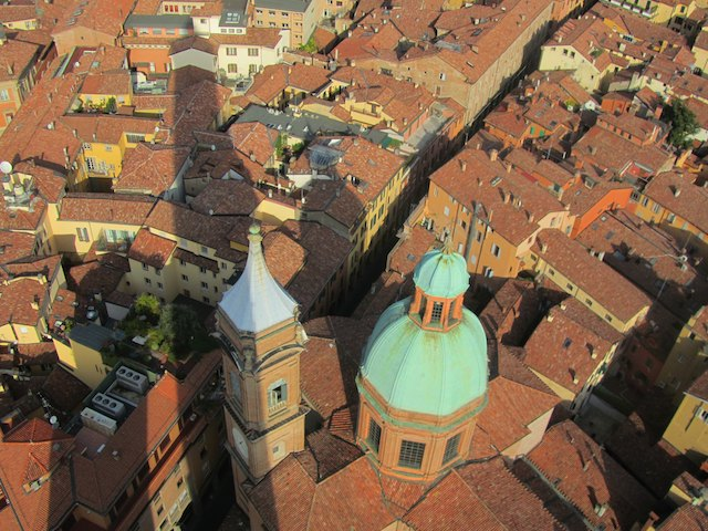view over Bologna - Julie Sykes 25 experiences I'm going to have before I die - The Gap Year Edit