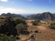 hiking Gran Canaria near Mogan
