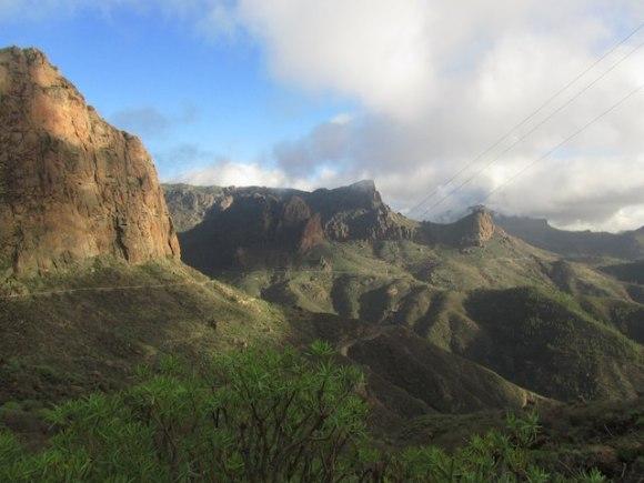 hiking Gran Canaria near San Bartolome