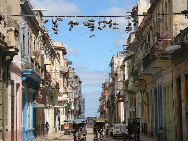 what to expect in Cuba: Havana street