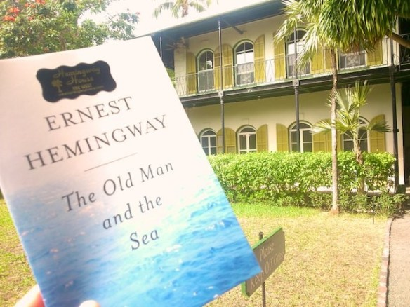 "Hemingway reminds me of Florida and Cuba when I ""travel at home"""