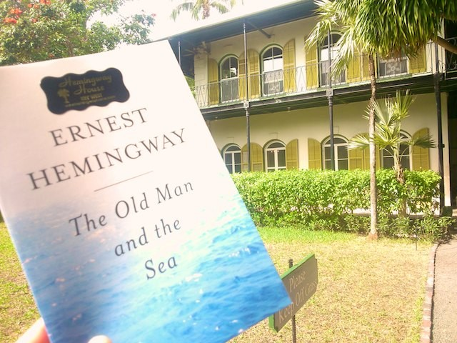 """Hemingway reminds me of Florida and Cuba when I """"travel at home"""""""
