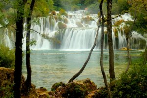 waterfalls at Krka National Park, Croatia