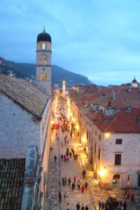 Split or Dubrovnik? Placa Street