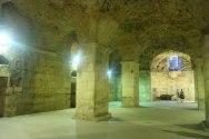 Split or Dubrovnik? The Diocletian's Palace cellars in Split