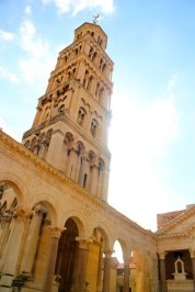 Split or Dubrovnik? The bell tower of the Cathedral of St. Domnius