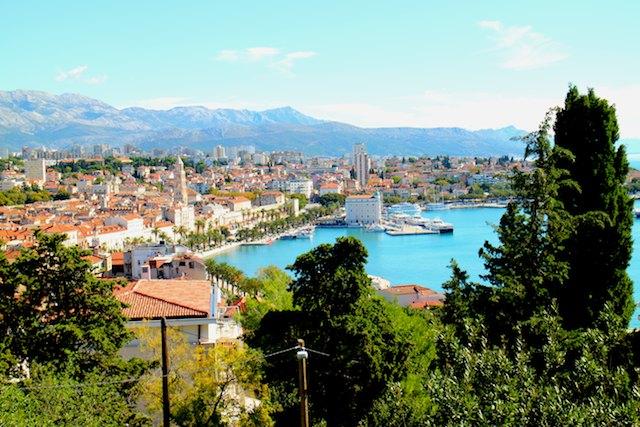 Split or Dubrovnik? Marjan Hill