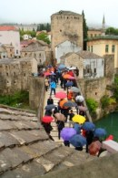 The Gap Year Edit Alternative Travel Awards - weather fail, Mostar, Bosnia-Hercegovina