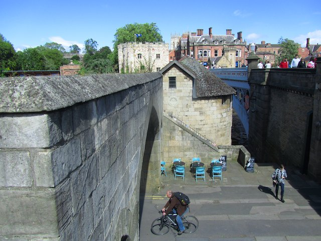 York city walls at Lendal Bridge