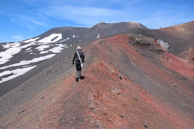 day trips from Catania - visiting Mount Etna
