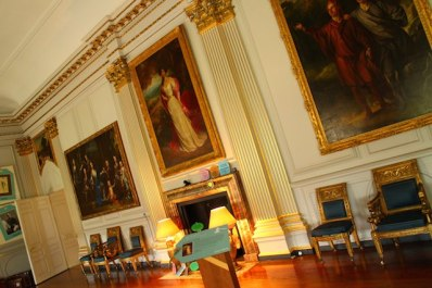 portraits galore at Beningbrough Hall - a day trip from York