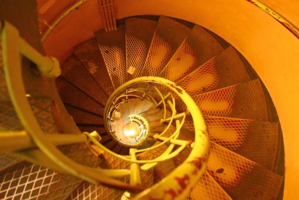 Best Berlin view Victory Tower stairs