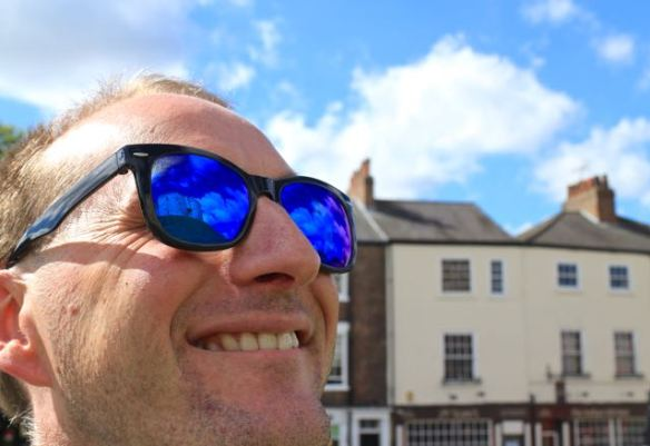 prescription sunglasses for travel York Cliffords Tower
