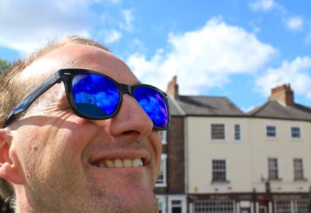 prescription sunglasses for travel York Cliffords Tower