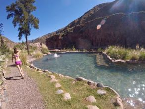 How to visit Cacheuta hot springs from Mendoza