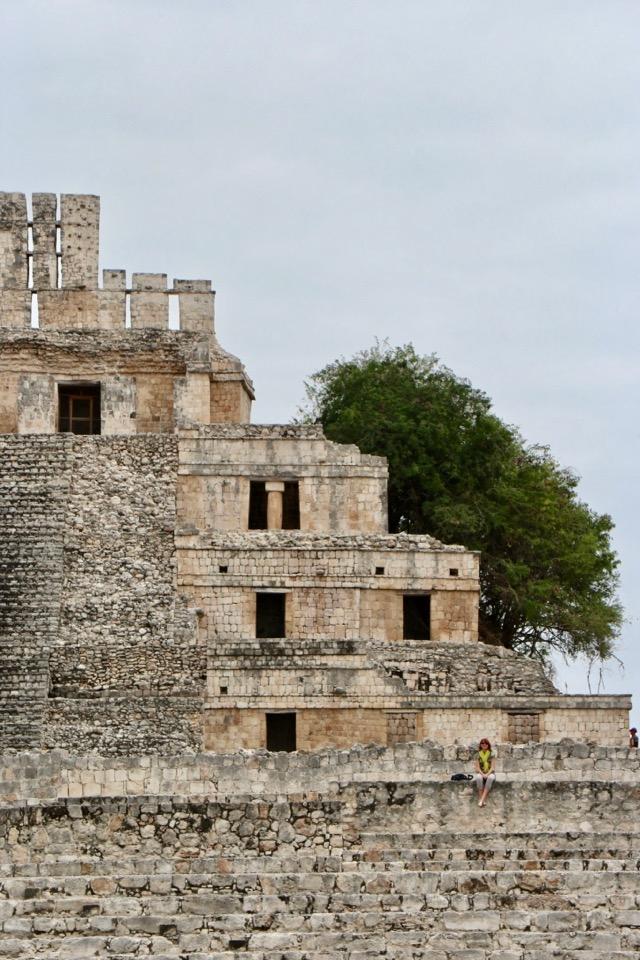 main pyramid, Edzna, Campeche